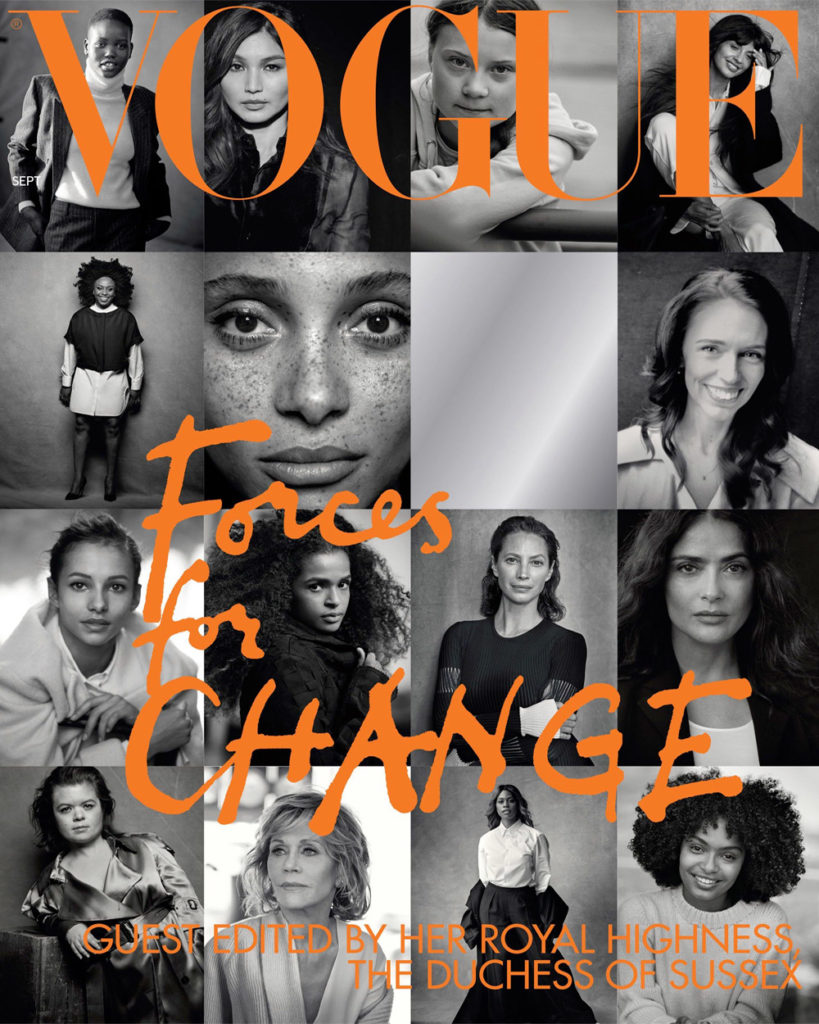 Late September 2019 – Guest-Editing Vogue