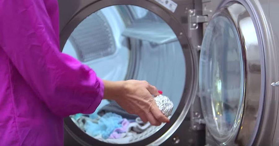 Papel Alumínio Nas Máquinas de Lavar e Secar