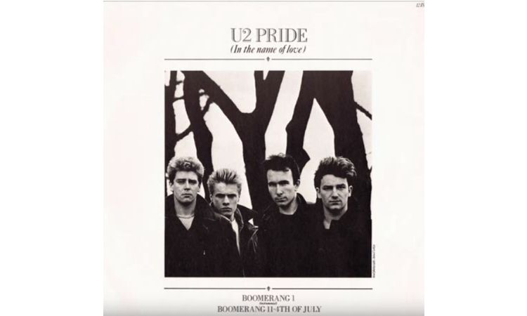 U2, Pride (In The Name Of Love) (1984)