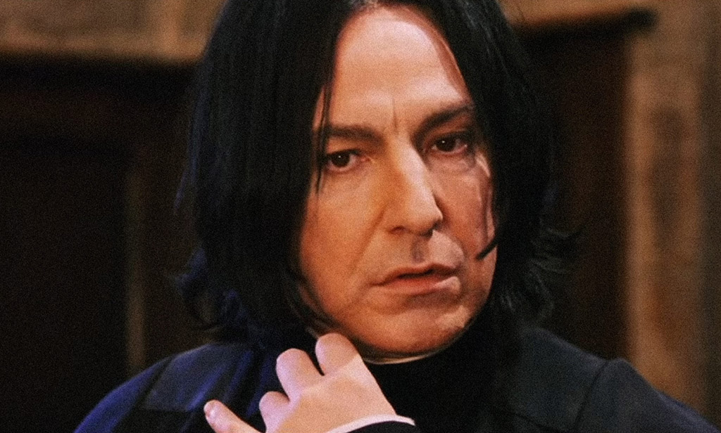 He Was Not The Studio's First Choice To Play Severus Snape