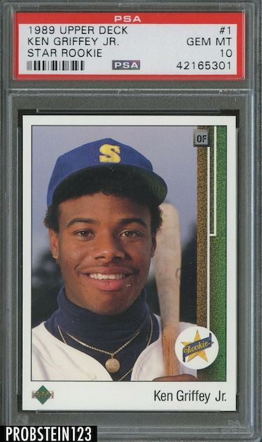 Ken Griffey Jr. - 1989 Upper Deck Rookie