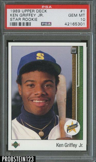 Ken Griffey Jr. - 1989 Upper Deck Rookie
