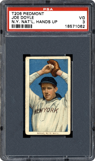 Joe Doyle - 1911 ATC T206