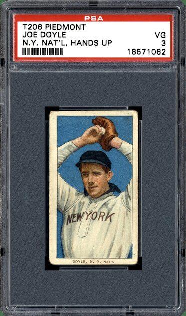 Joe Doyle - 1911 ATC T206