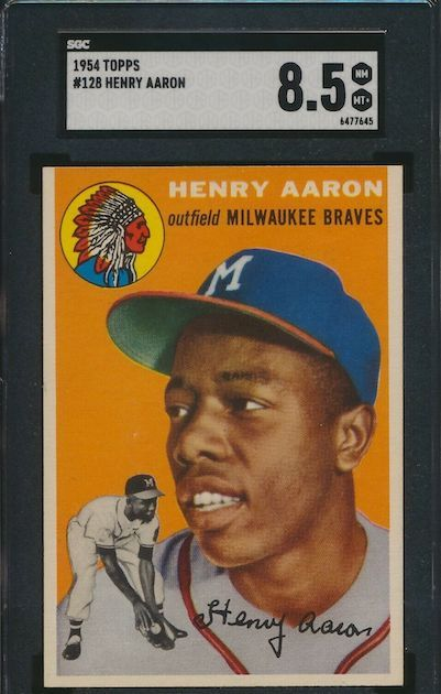 Hank Aaron - 1954 Topps