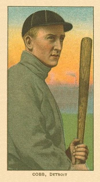 Ty Cobb - 1909 T206 'Bat Off Shoulder'
