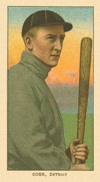 Ty Cobb - 1909 T206 'Bat Off Shoulder'