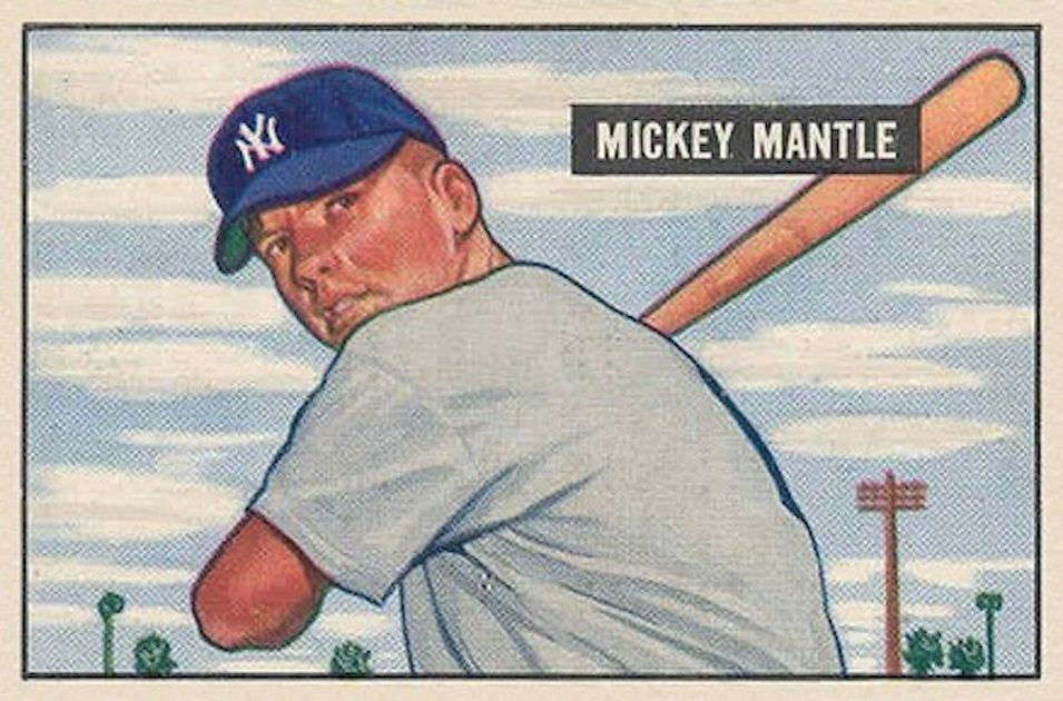 Mickey Mantle - 1951 Bowman