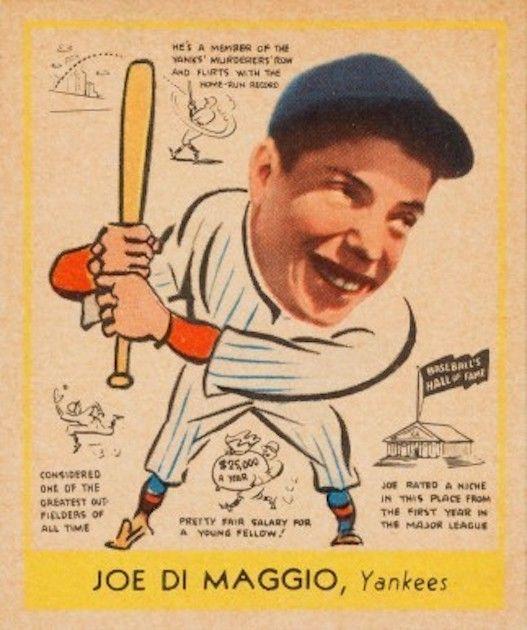 Joe DiMaggio - Goudie 1948