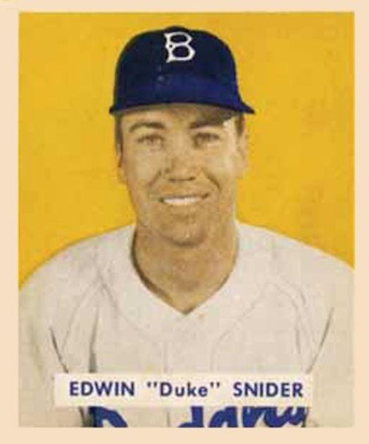 Duke Snider - 1949 Bowman