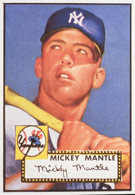 Mickey Mantle - 1952 Topps