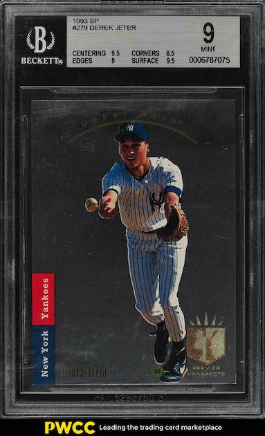 Derek Jeter - 1993 Upper Deck SP Foil