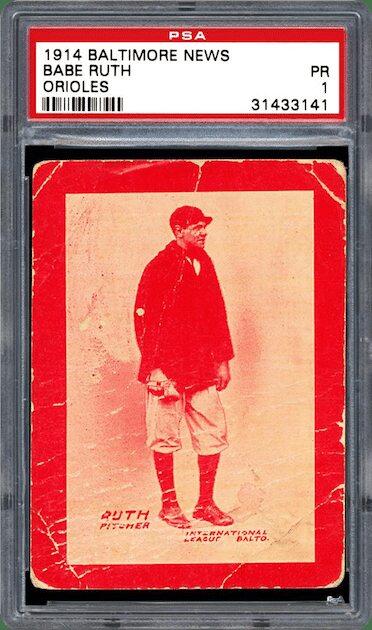 Babe Ruth - 1914 Baltimore News