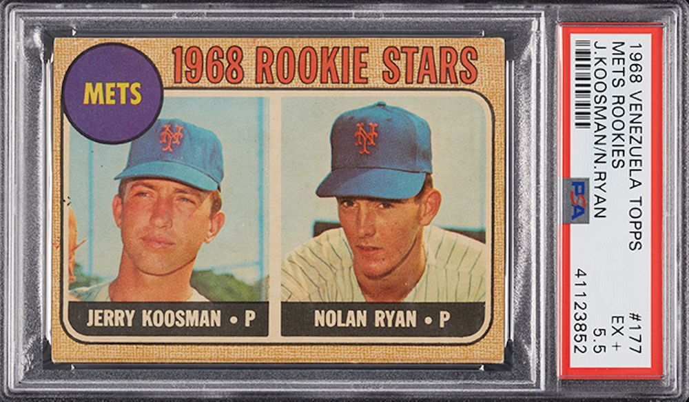 Nolan Ryan/Jerry Koosman - 1968 Topps Rookie