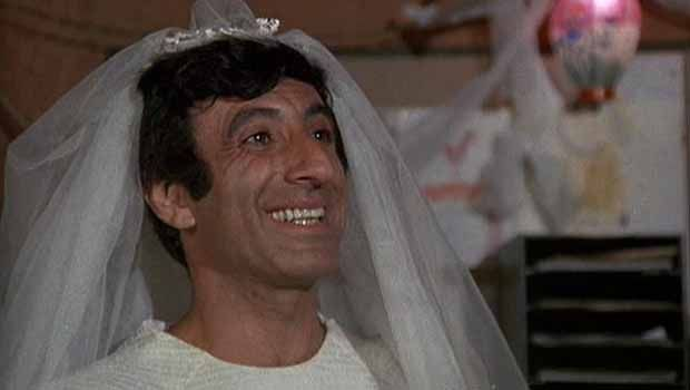 They Used Klinger's Wedding Dress Three Times