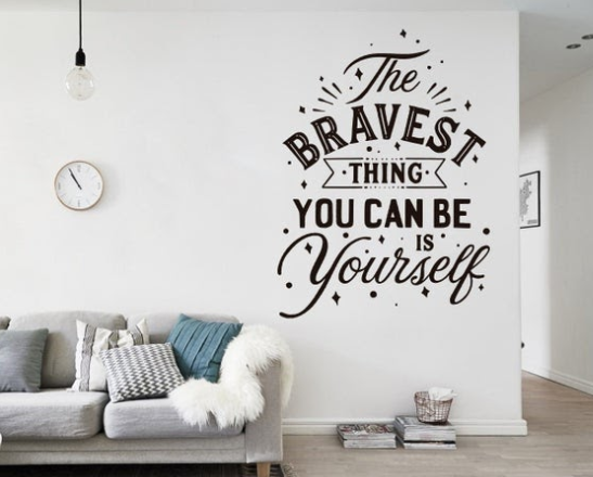 Skip The Wall Decals