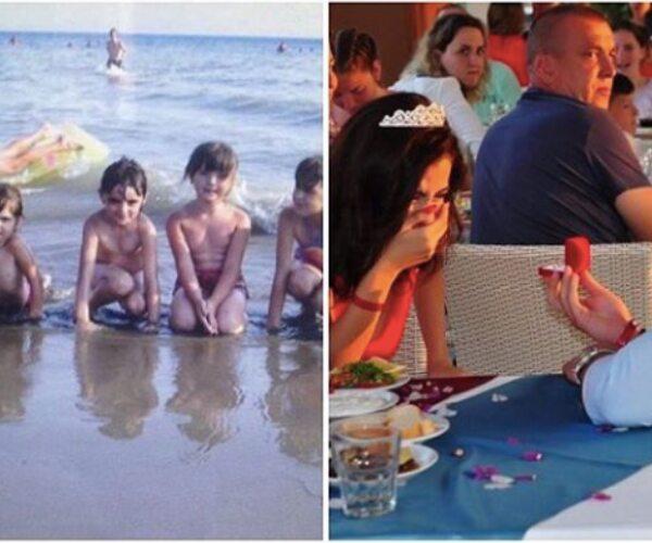 Na Praia 10 Anos Antes