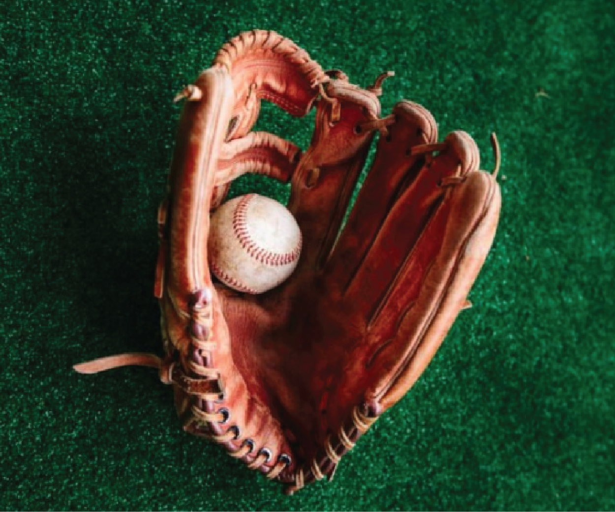 Molde sua luva de beisebol