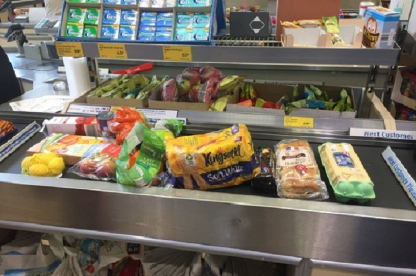 Everything Was Arranged To Make Checkout As Easy As Possible