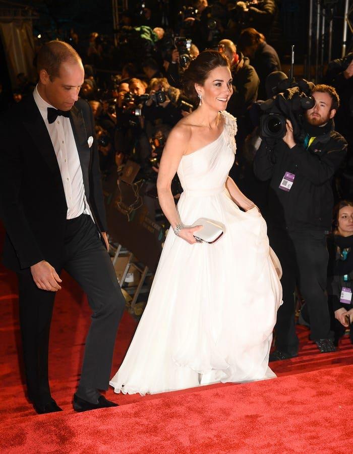 The Duchess Wears Alexander McQueen