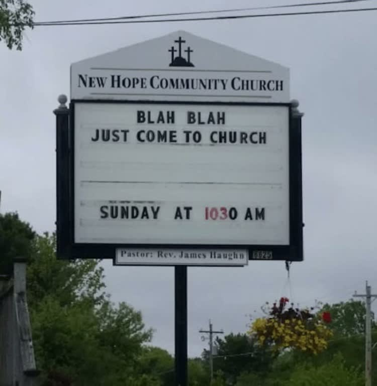 Just Go To Church