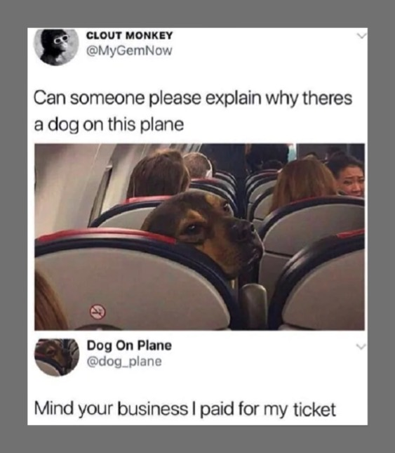 He Is A Paying Customer