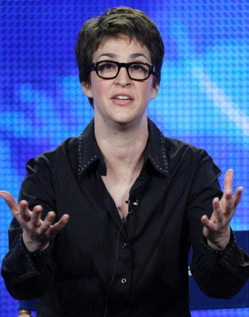 Rachel Maddow – $20 Million