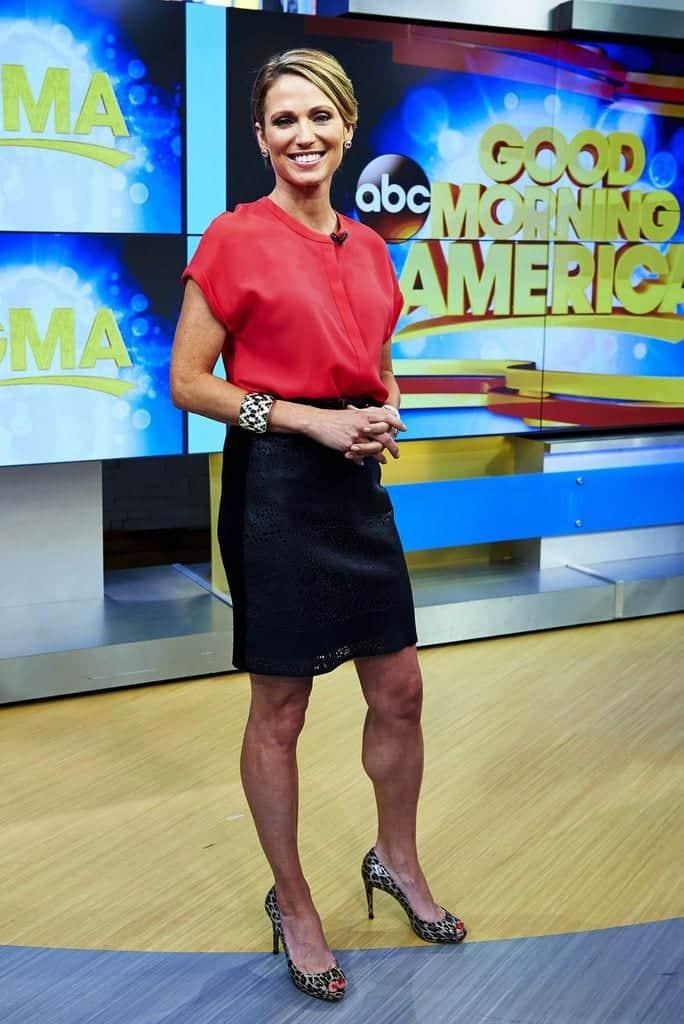 Amy Robach – $1.4 Million